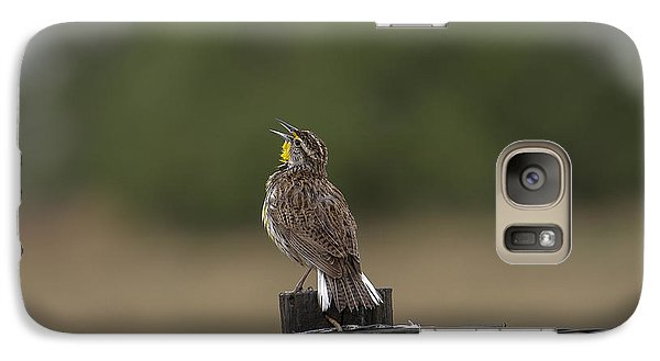Galaxy Case featuring the photograph Singing A Morning Song by Monte Stevens