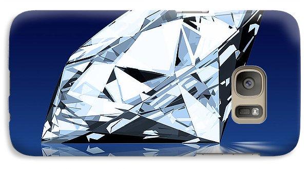Single Blue Diamond Galaxy Case by Setsiri Silapasuwanchai