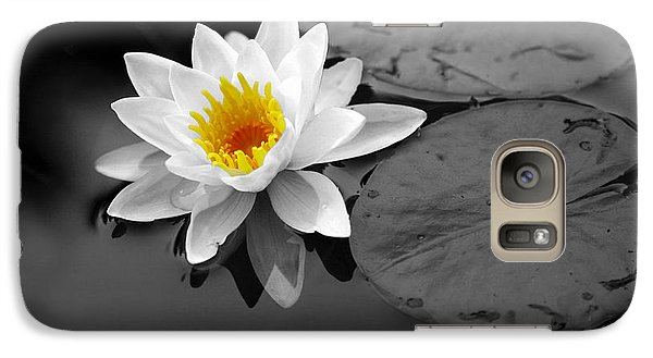 Galaxy Case featuring the photograph Single Lily by Shari Jardina