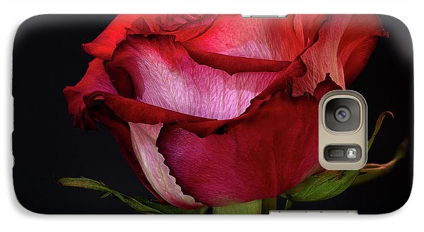 Single Rose Galaxy S7 Case