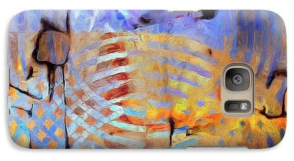 Galaxy Case featuring the painting Singularity by Dominic Piperata