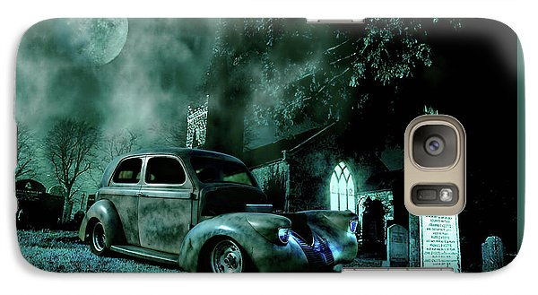 Galaxy Case featuring the photograph Sinister by Steven Agius