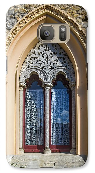 Galaxy Case featuring the photograph Sintra Window by Carlos Caetano