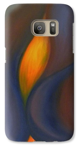 Galaxy Case featuring the painting Sinuous Curves by Fanny Diaz