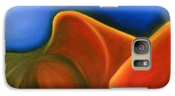 Galaxy Case featuring the painting Sinuous Curves Iv by Fanny Diaz