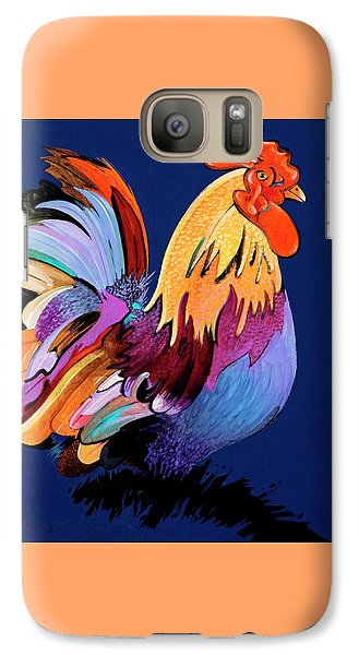 Galaxy Case featuring the painting Sir Chanticleer by Bob Coonts