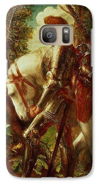 Knight Galaxy S7 Case - Sir Galahad by George Frederic Watts