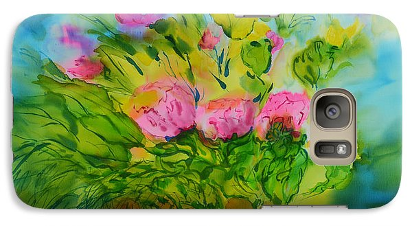 Galaxy Case featuring the painting Sisters by Susan D Moody