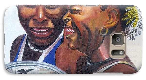Sisters Williams Galaxy S7 Case by Emmanuel Baliyanga