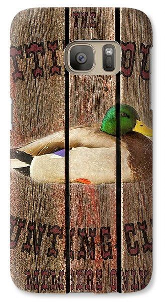 Sitting Duck Hunting Club Galaxy S7 Case