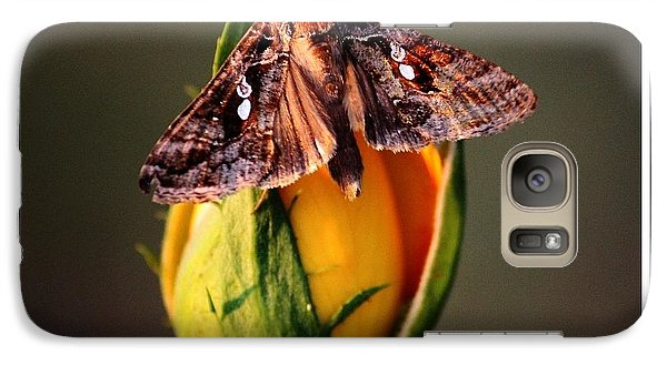 Galaxy Case featuring the photograph Sitting Pretty by KayeCee Spain