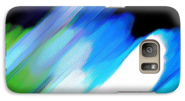 Galaxy Case featuring the painting Sivilia 10 Abstract by Donna Corless