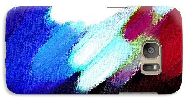 Galaxy Case featuring the painting Sivilia 12 Abstract by Donna Corless