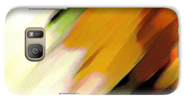 Galaxy Case featuring the painting Sivilia 2 Abstract by Donna Corless