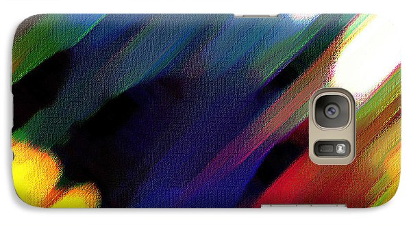Galaxy Case featuring the painting Sivilia 4 Abstract by Donna Corless