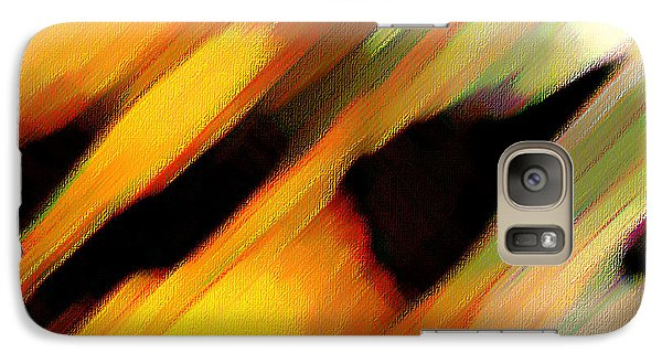 Galaxy Case featuring the painting Sivilia 8 Abstract by Donna Corless