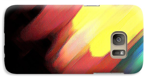 Galaxy Case featuring the painting Sivilia 9 Abstract by Donna Corless