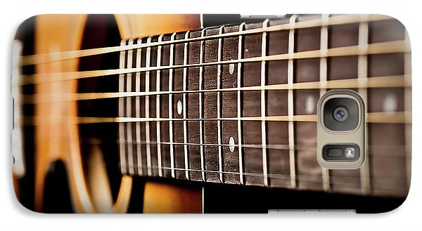 Six String Guitar Galaxy S7 Case by  Onyonet  Photo Studios