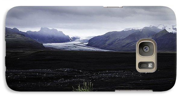 Galaxy Case featuring the photograph Skaftafellsjokull Glacier by Nancy Dempsey
