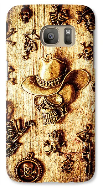 Galaxy Case featuring the photograph Skeleton Pendant Party by Jorgo Photography - Wall Art Gallery