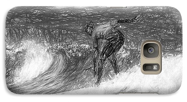 Sketch A Wave Galaxy S7 Case