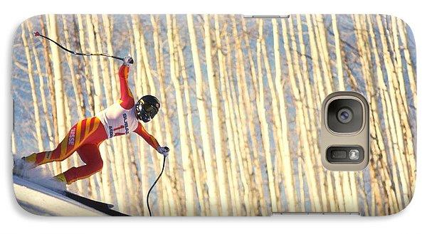 Skiing In Aspen, Colorado Galaxy S7 Case