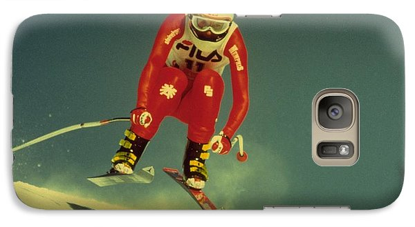 Skiing In Crans Montana Galaxy S7 Case