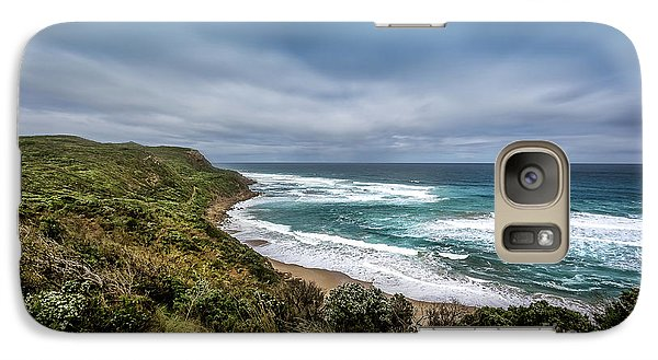 Galaxy Case featuring the photograph Sky Blue Coast by Perry Webster