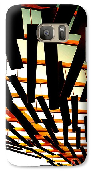 Galaxy Case featuring the photograph Sky Chasm by Cathy Dee Janes