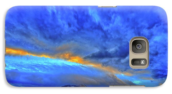 Galaxy Case featuring the photograph Sky Fall by Scott Mahon