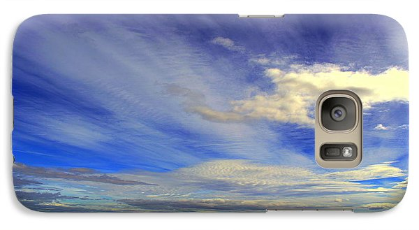 Galaxy Case featuring the photograph Sky by Irina Hays