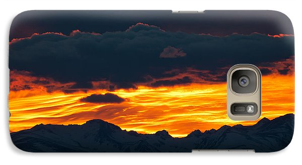 Galaxy Case featuring the photograph Sky Lava by Colleen Coccia