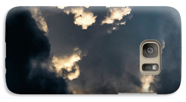 Galaxy Case featuring the photograph Sky Life Creator by Steven Poulton