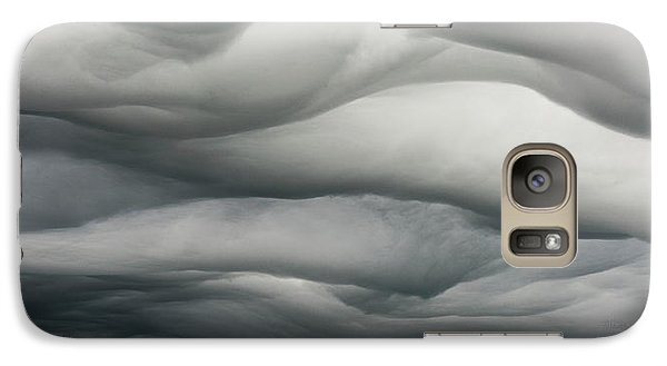 Galaxy Case featuring the photograph Sky Life Undulatus Asperatus by Steven Poulton