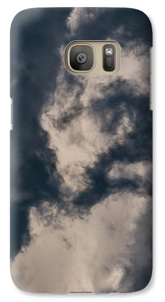 Galaxy Case featuring the photograph Sky Life Look Up by Steven Poulton
