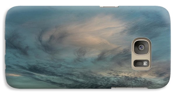 Galaxy Case featuring the photograph Sky Life by Steven Poulton