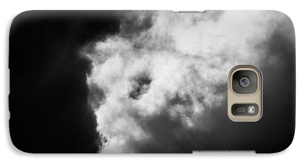 Galaxy Case featuring the photograph Sky Life Thunder  by Steven Poulton
