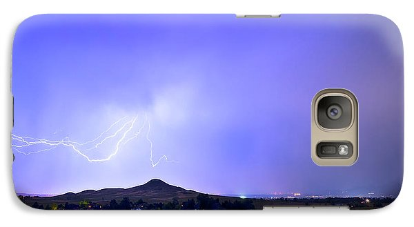 Galaxy Case featuring the photograph Sky Monster Above Haystack Mountain by James BO Insogna