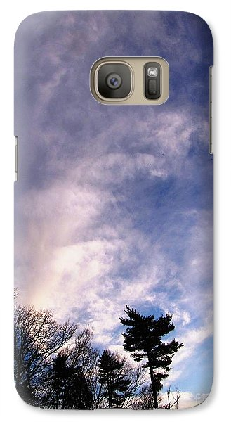 Galaxy Case featuring the photograph Sky Study 2 3/11/16 by Melissa Stoudt