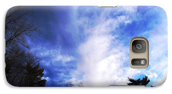 Galaxy Case featuring the photograph Sky Study 4 3/11/16 by Melissa Stoudt