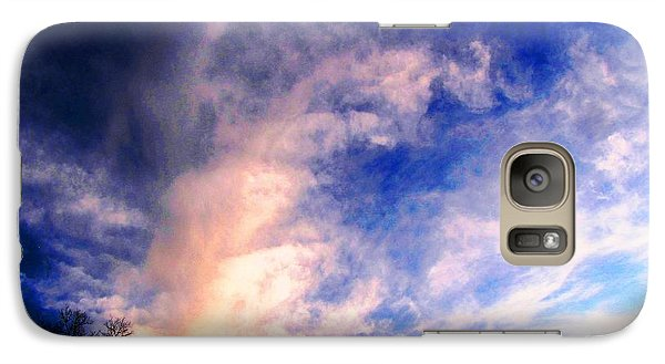 Galaxy Case featuring the photograph Sky Study 5 3/11/16 by Melissa Stoudt