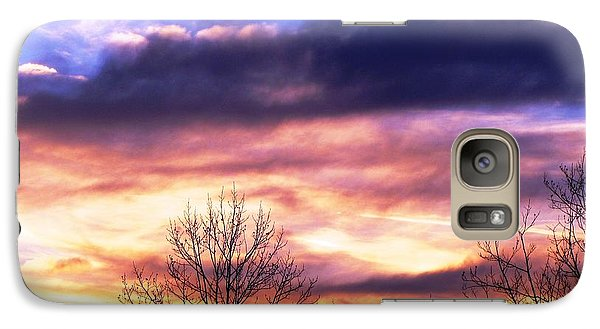 Galaxy Case featuring the photograph Sky Study 8 3/11/16 by Melissa Stoudt