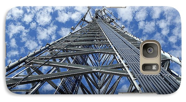 Galaxy Case featuring the photograph Sky Tower by Robert Geary