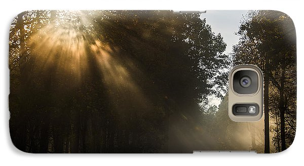 Galaxy Case featuring the photograph Skyline Drive Fall Color by Kevin Blackburn