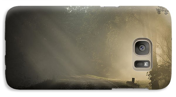 Galaxy Case featuring the photograph Skyline Drive One by Kevin Blackburn