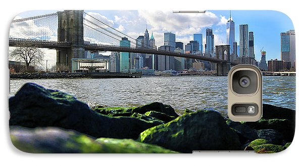 Galaxy Case featuring the photograph Skyline by Mitch Cat