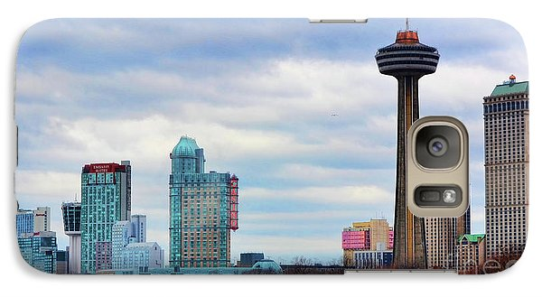 Galaxy Case featuring the photograph Skyline Niagara by Traci Cottingham