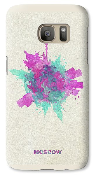 Skyround Art Of Moscow, Russia Galaxy S7 Case