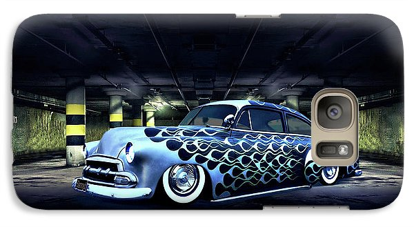 Galaxy Case featuring the photograph Slammed by Steven Agius