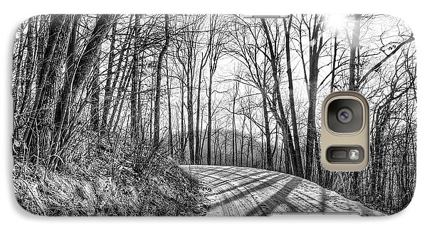 Galaxy Case featuring the photograph Sleep Hallow Road by Dan Traun
